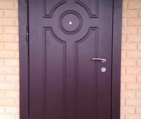 Ремонт уличных металлических дверей
