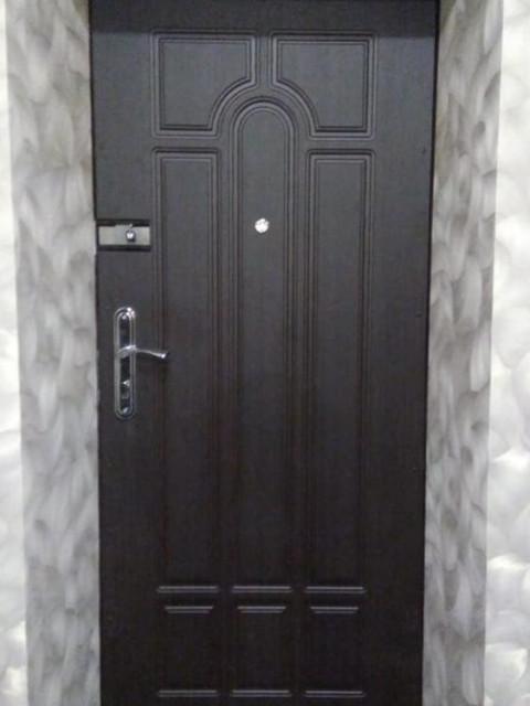 Внутренняя отделка двери МДф панелями